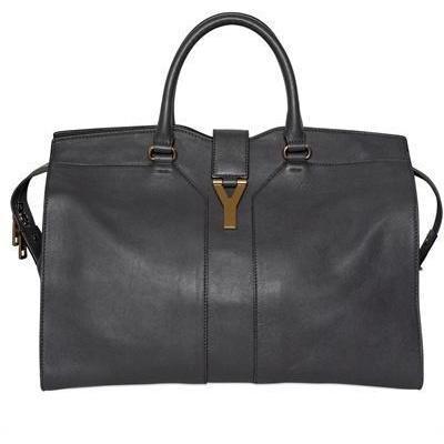 Yves Saint-Laurent - Große Cabas Chyc Weiche Leder Handtasche