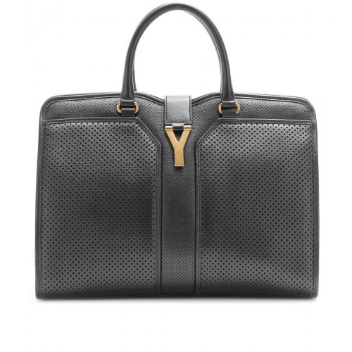 Yves Saint Laurent Large Cabas Chyc East/West Ledertasche