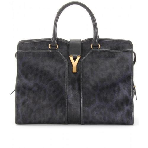 Yves Saint Laurent Large Cabas Chyc East/West Ponyfelltasche
