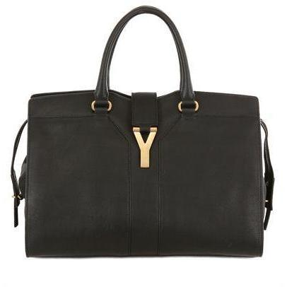 Yves Saint-Laurent - Medium Cabas Chyc Weiche Leder Tasche