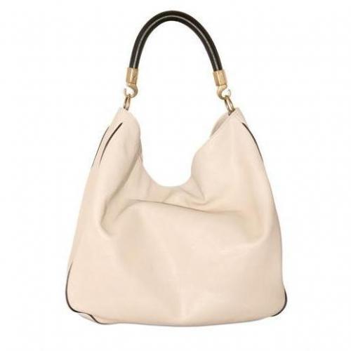 Yves Saint-Laurent - Zweifarbiges Büffelleder Handtasche