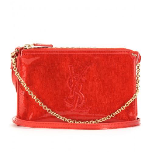 Yves Saint Laurent Logo Abendtasche Rot
