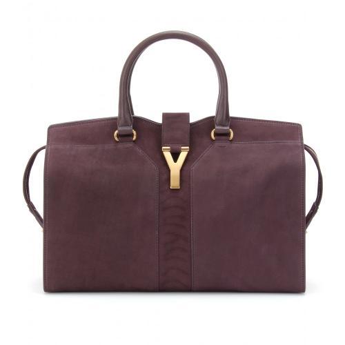Yves Saint Laurent Handtasche Violett